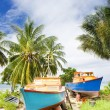 Fishing boats, Six Men''s Bay, Barbados — Stock Photo