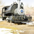 Stock Photo: Stem locomotive