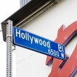 Stock Photo: Hollywood Boulevard, Los Angeles, California, USA