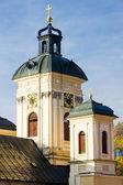 Ayrıntı kilisesi, st. mary, banska stiavnica, slovakya — Stok fotoğraf