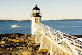 Marshall Point Lighthouse, Maine, USA — Stock Photo