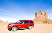 Off road, Merrick Butte, Monument Valley National Park, Utah-Ari — Stock Photo
