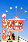Holiday Motel, Las Vegas, Nevada, USA — Stock Photo