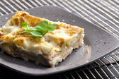 Spinach lasagne — Stock Photo