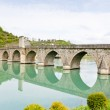 Bridge over Drina River, Visegrad, Bosnia and Hercegovina — Stock Photo #4619057