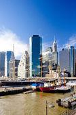 Pier 17, Manhattan, New York City, USA — Stock Photo