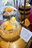 Still life - citrus fruit (sample of wine aroma) — ストック写真