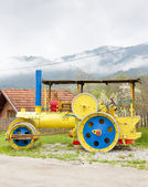 Steam roller — Stockfoto