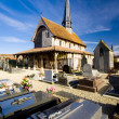 Stock Photo: Church in Bailly-le-Franc, Champagne, France