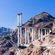 Stock Photo: Hoover Dam surroundings