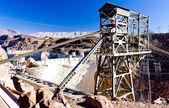 Hoover Dam surroundings, Arizona-Nevada, USA — Stock Photo
