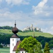 Church in Zehra and Spissky Castle - Stock Photo