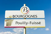 Pouilly-Fuisse — Stock Photo