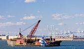 Порт в верхнем Нью Йорк-Бей, Сша — Стоковое фото