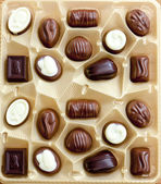 Chocolate candies — Stock Photo
