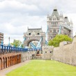 Tower of London and Tower Bridge — Stock Photo