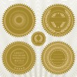 Vector reward seals — Stockfoto