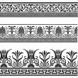 Royalty-Free Stock Photo: Vector Decorative Border Set