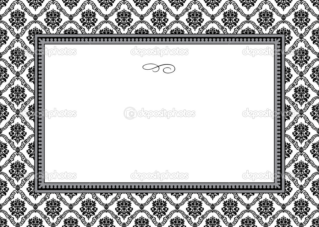 Vector circle pattern and frame. Easy to scale and edit. — Stock Photo #3454534