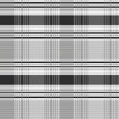 Vector Gray Plaid Pattern — Stock Photo