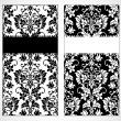 Vector Damask Frame Set — Stock Photo #3481815