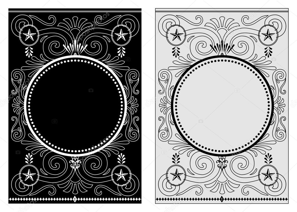 Vector decorative frame. Easy to scale and edit.   Stock Photo #3481811