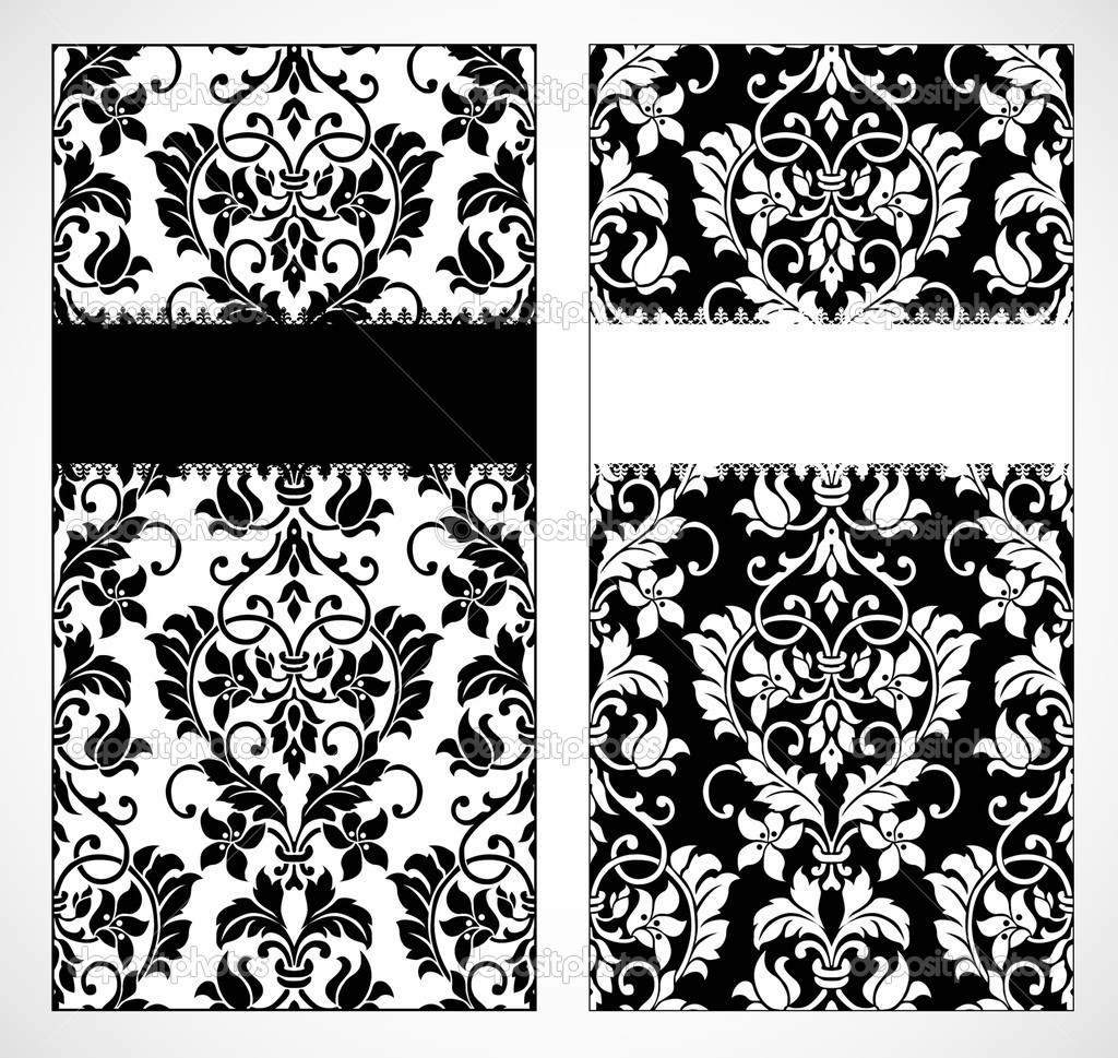Vector decorative frame. Easy to scale and edit. Pattern is included as seamless swatch — Stock Photo #3481815