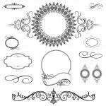 Vector Ornament Set — Stock Photo #3521709