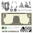Vector Miscellaneous Money Ornaments - Foto de Stock