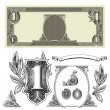 Stock Photo: Vector Money Elements