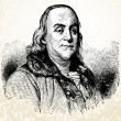 Stock Photo: Vector Benjamin Franklin illustration