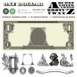 Vector Miscellaneous Money Ornaments — Stock Photo