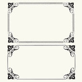 Vector Dot Frames — Stock Photo