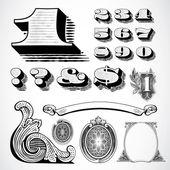 Vector Money Elements — Stock Photo