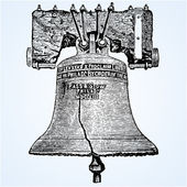 Vector Liberty Bell — Stock Photo