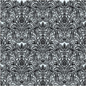 Vector Seamless Damask Pattern — Stock Photo