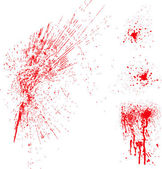Vector Blood Spatter — Stock Photo
