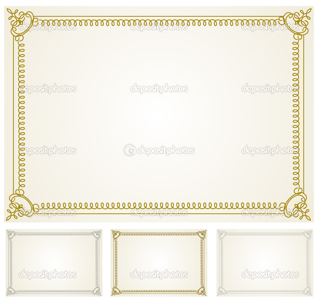 decorative frame set with seamless background pattern photo by createfirst