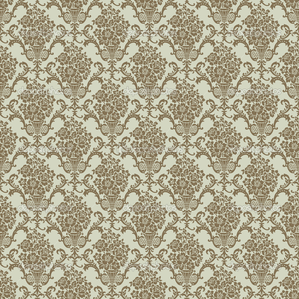 Repeating vector background pattern. The pattern is included as a seamless swatch. Very easy to edit.  Stock Photo #3527249