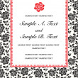 Stok fotoğraf: Vector Ornate Frame and Borders Set and Pattern