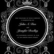 Foto Stock: Vector Ornate Frame and Borders Set and Pattern