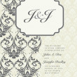 Ornate Frame and Borders Set and Pattern — Stock fotografie #3647161