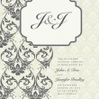 Vector Ornate Frame and Borders Set and Pattern - Stock Photo