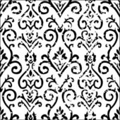 Vector Distressed Floral Pattern — Stock Photo