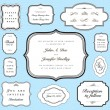 Vector Ornate Frame and Borders Set and Pattern — 图库照片 #3659414