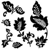 Vector berry floral ornamento — Fotografia Stock