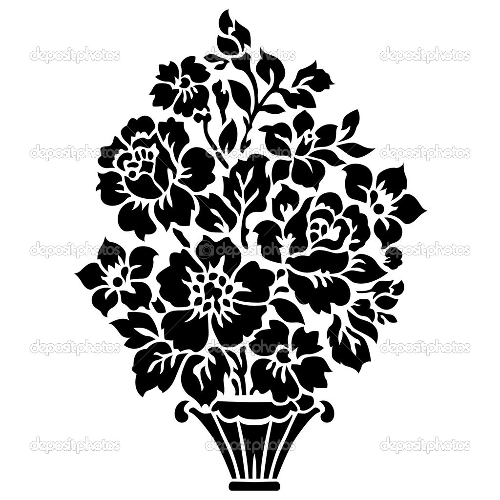 Clip Art Flowers Bouquet