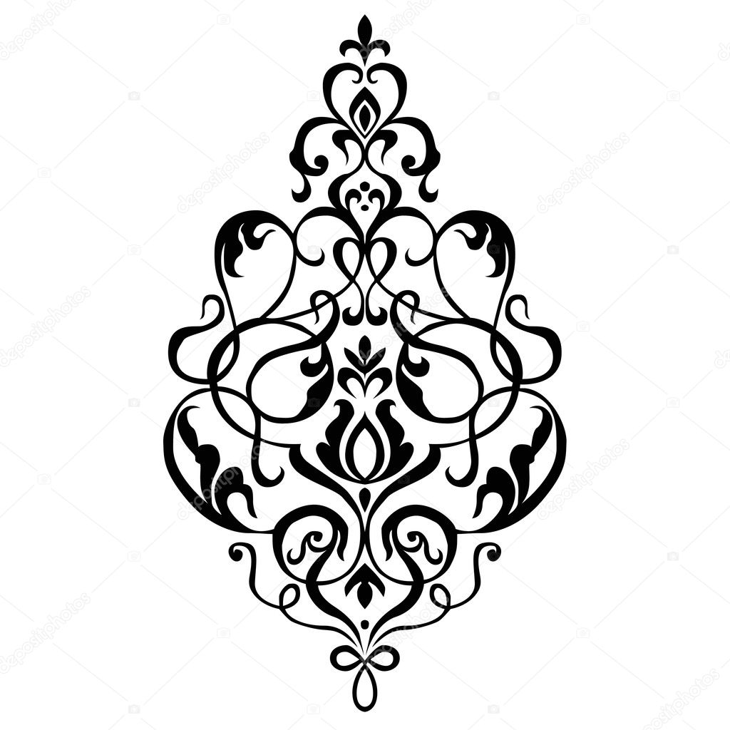 Vector small flower ornament stock photo 169 createfirst 3725464