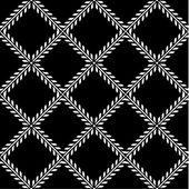 Vector Crossing Fleur de Lys Pattern — Stock Photo