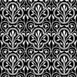 Vector Clover Seamless Pattern — Stock Photo